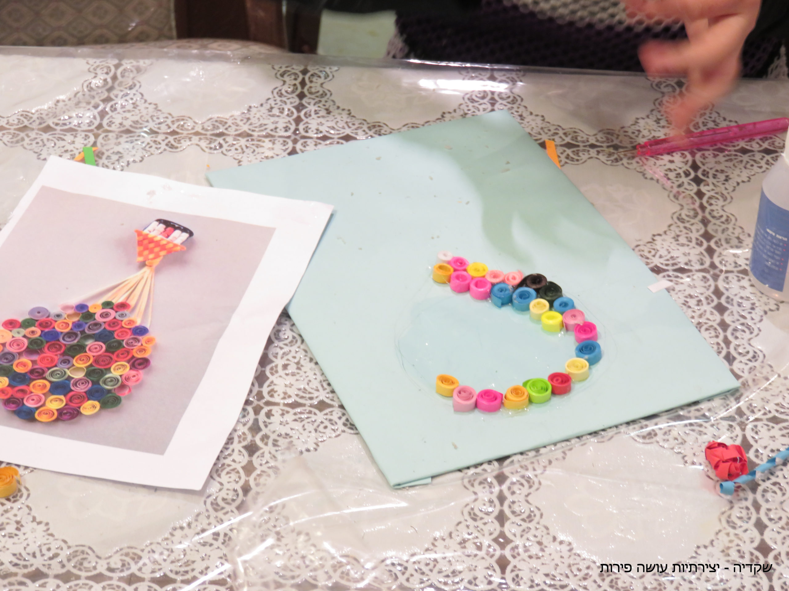 קוילינג - שקדיה, יצירתיות עושה פירות
