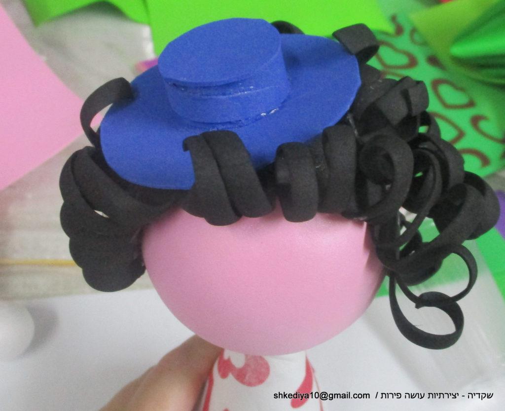 הוראות להכנת בובת סול - שקדיה יצירתיות עושה פירות