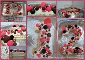עוגת מספרים - שקדיה